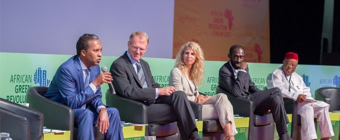 Jennifer Blanke at the 7th African Green Revolution Forum in Abidjan