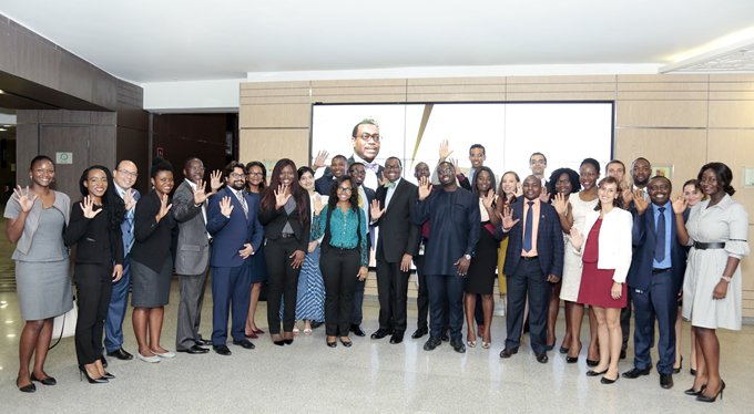 AfDB President expresses desire for pipeline of young talent in meeting with Young Professionals