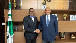 King of Lesotho, African Development Bank President, hold bilateral meeting on increased nutrition investment, projects collaboration