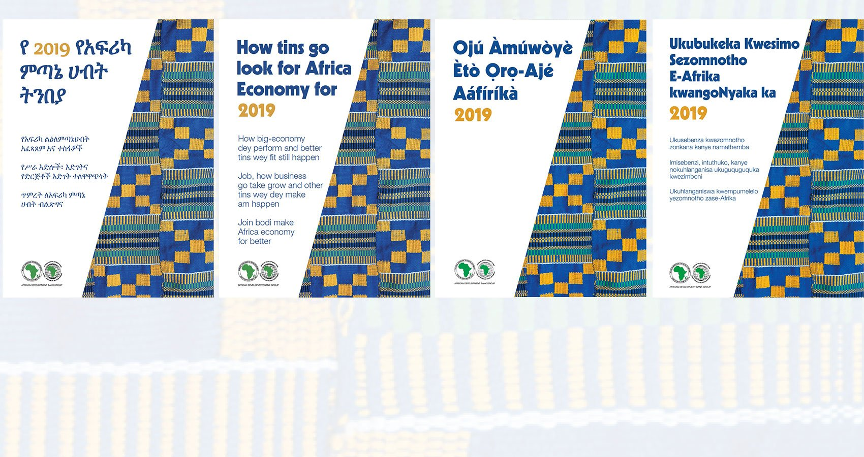 African Development Bank releases highlights of 2019 African Economic Outlook in 7 African languages
