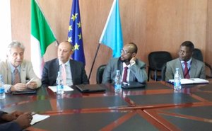 Italy ramps up support for Somalia's infrastructure, contributes €1 million to Somalia Infrastructure Fund