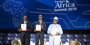 Africa's digital economy is a pan African responsibility, Rwanda's President Kagame says at Transform Africa Summit