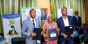 Côte d'Ivoire: ADEA, the Didier Drogba Foundation and Education Ministry sign MoU to promote digital literacy in Africa