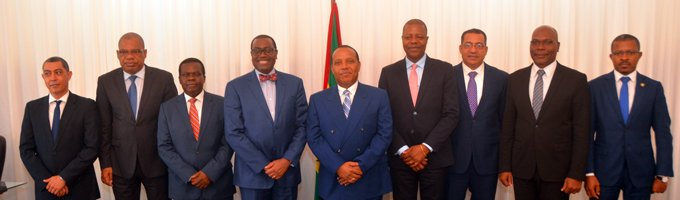African Development Bank President in São Tomé and Príncipe to strengthen alliances