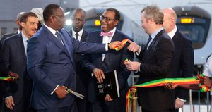 Senegal: Handover of Dakar Regional Express Train