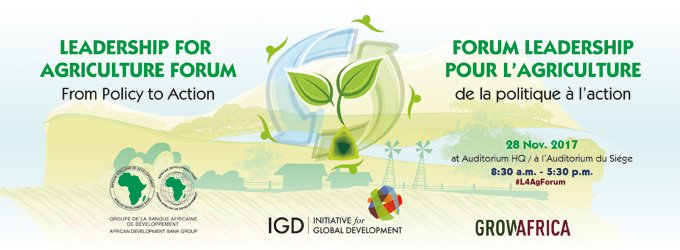 Invitation to the Leadership for Agriculture Forum: from policy to action