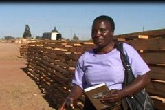 Flora Mwakanyamala, a client of Makambako Community Savings and Credit Cooperatives (SACCOs)