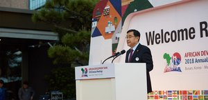 South Korea's rapid development is an inspiration to Africa, says African Development Bank President