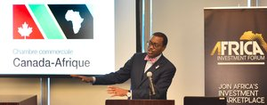 African Development Bank President Adesina urges Canada to be present at Africa's investment table