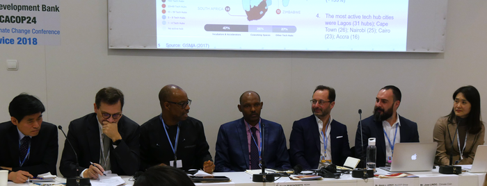 A new climate action: Digital Decarbonization of the African continent