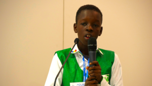 "COP24: ""If climate change gets any worse, we're simply going to disappear!"", 12-year old Mounir Mbogo warns"