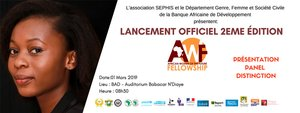 African Women of the Future Fellowship 2019 Cérémonie d'ouverture