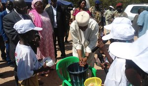 On October 15, the Bank observes Global Handwashing Day