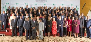 "African Development Bank President Adesina confident of ""very promising future"" for continent"