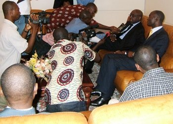 President Kaberuka on Official Visit in Abidjan
