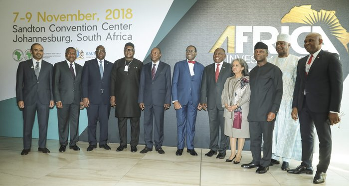 Adesina shares vision to transform Africa through investment not aid