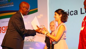 African Legal Support Facility receives an award from Africa Energy Forum