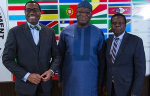 Nigeria: Ekiti State Governor visits African Development Bank, makes a case for increased investment in his region.