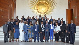 AU Ambassadors reflect on resource mobilization for NEPAD IPPF Special Fund