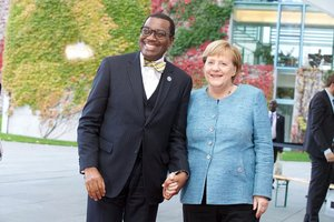 """Chancellor Merkel your name is written in gold in Africa"": African Development Bank's Adesina to stakeholders at G20 Investment Summit, Germany"