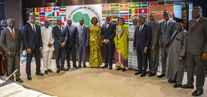 Visiting African Development Bank Governors from West Africa laud Bank's transformative projects