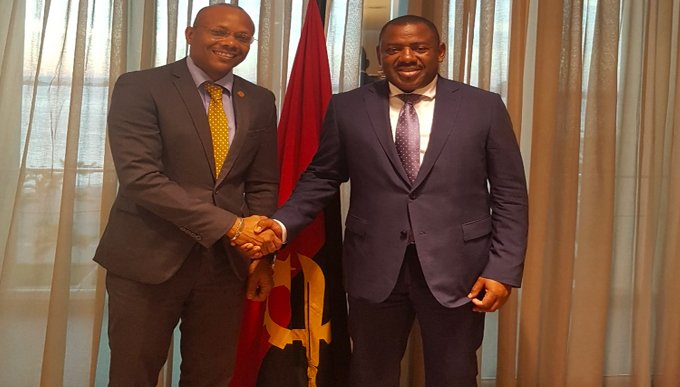 Angola's Country Manager meets Government officials: strengthened partnership in the transport sector, regional integration and Bank portfolio
