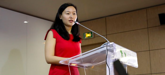 "African Development Bank Seminar: ""Chinese industrial investment will help to achieve African economic transformation"" – speaker Yuan Sun explains Chinese investment motives in Africa"