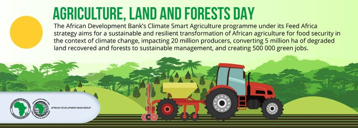 The land, agriculture and forestry nexus at the heart of African sustainability