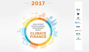 MDB climate finance hit record high of  US$ 35.2 billion in 2017