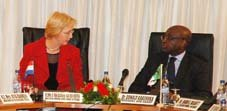 AfDB-Netherlands: Mrs. Agnes Van Ardenne-Van Der Hoeven visits the Bank