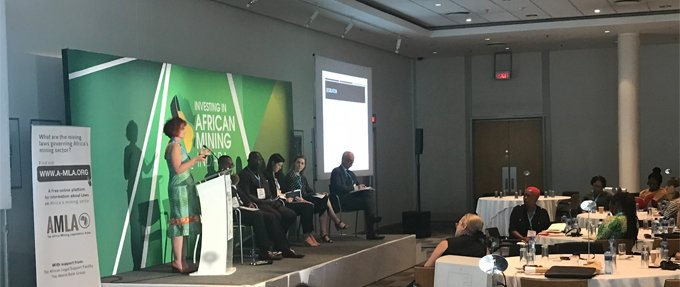 Equality in the extractives industry: ALSF, International Women in Mining, and Adam Smith International launch high-level event at Mining Indaba 2018