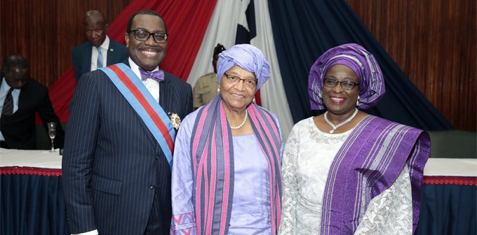 Akinwumi Adesina receives accolade of highest honour of the Republic of Liberia