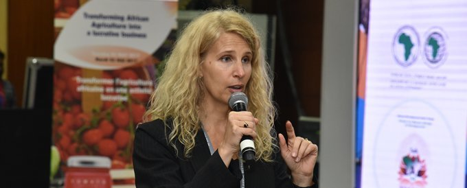 Jennifer Blanke - the Vice-President, Agriculture, Human and Social Development at the African Development Bank (AfDB)