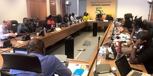 First statutory meeting of the  African Development Bank-Civil Committee