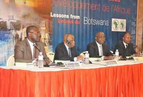 Botswana's Former President Discusses African Extractive Industries