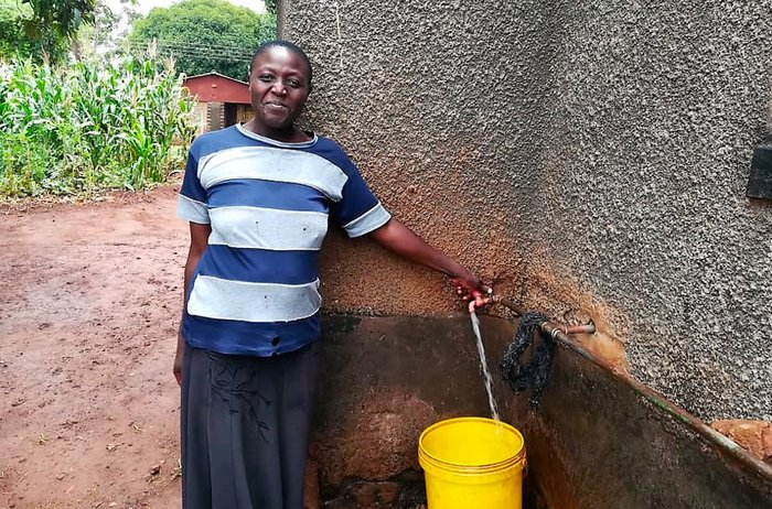 Water at last for Kuwadzana residents in Zimbabwe