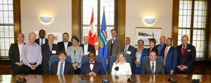 "Adesina wraps up Canada visit with a plea in Calgary:  ""Africa cannot be ignored"""