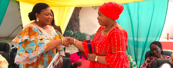 Ghana's First Lady Joins Network of African Leaders for Nutrition Champion