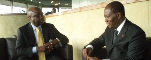 Ivorian Leader Seeks to Benefit from AfDB Assistance and Rich Experience