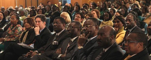 AfDB Senior Management at the International Women's Day celebration