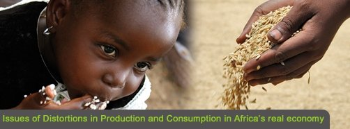 Issues of Distortions in Production and Consumption in Africa's real economy