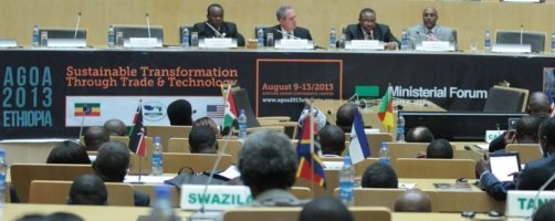 AfDB President urges enhanced value chain development at the 12th AGOA Ministerial Forum in Addis Ababa