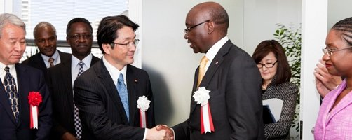 AfDB Opens External Representation Office in Tokyo