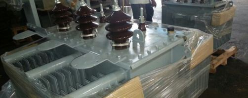 Distribution transformers destined for ZETDC