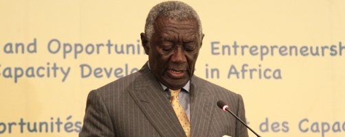 Former Ghanaian president, John A. Kufuor, to be next AfDB Eminent Speaker