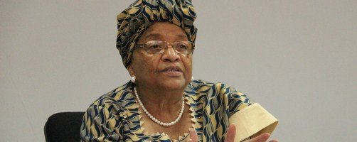 H.E. Ellen Johnson Sirleaf, President of Liberia, hosts High Level Panel on Fragile States discussion in Monrovia