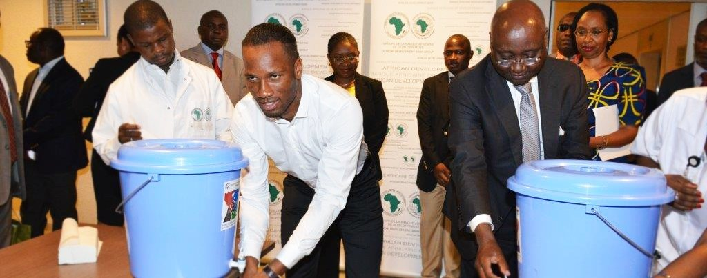 AfDB and Drogba team up against Ebola