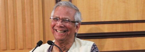 Eminent Speakers Series: Nobel Peace Prize-winner and Microcredit Champion Muhammad Yunus