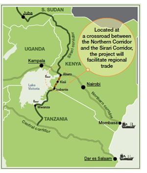 AfDB Approves US Million Loan To Rehabilitate Strategic Road - Where is tanzania located