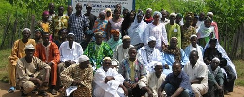 Participants-Exchange Visit (Niamina Site PROGEBE – The Gambia)
